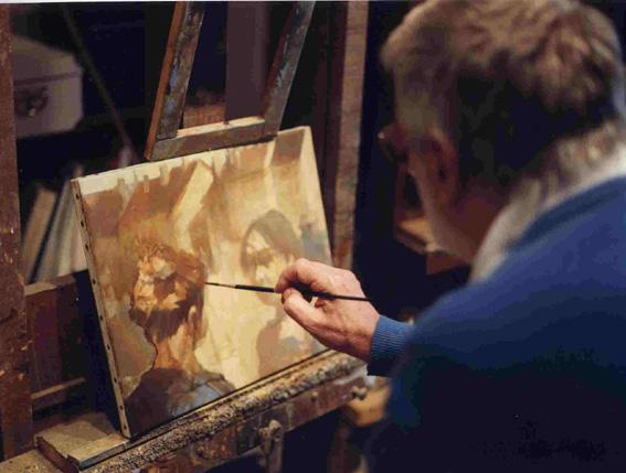 Jean-Claude Bourgeois, artiste peintre.